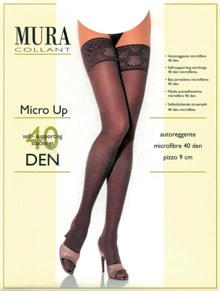 650 Чулки MICRO-UP 40den MICROFIBRE
